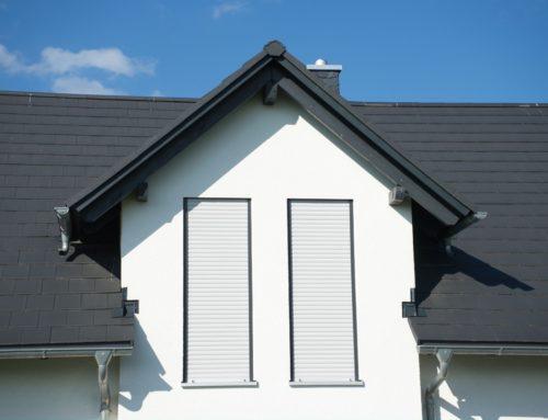 klassischer Dachstuhl im Detail
