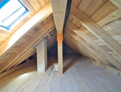 kompletter Dachstuhl