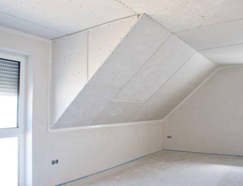 Dachgeschossausbau mit Gipskarton